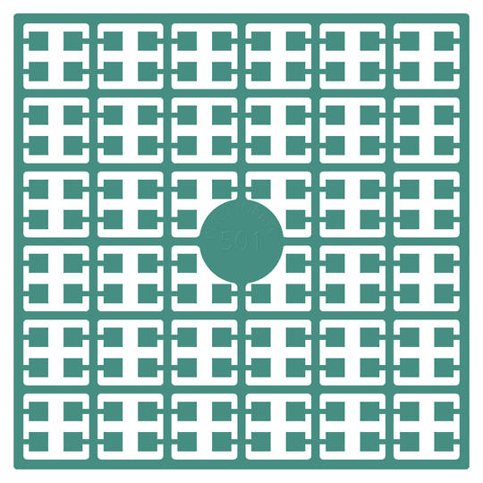 Pixel Square Colour 501