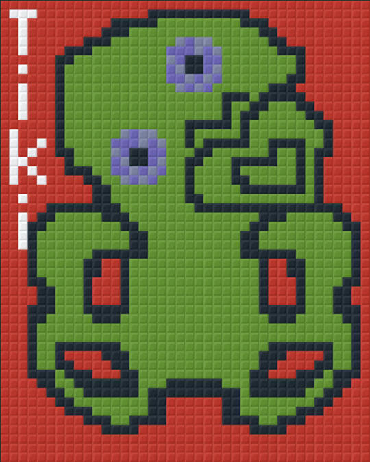 Tiki One [1] Baseplate PixelHobby Mini-mosaic Art Kits