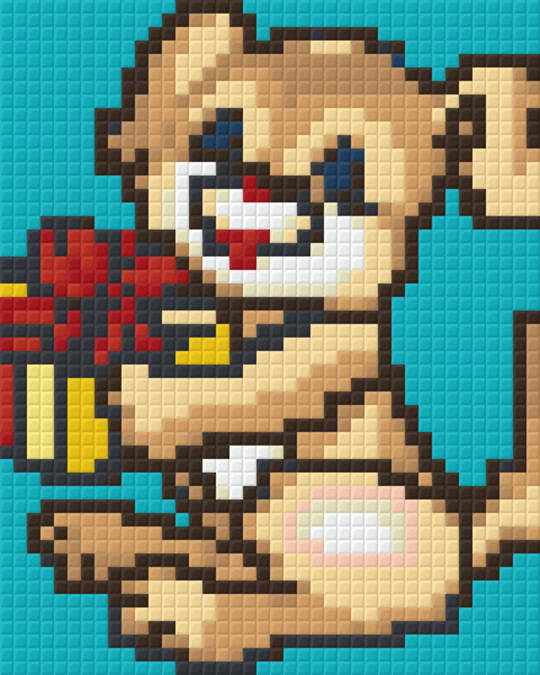 Puupy One [1] Baseplate PixelHobby Mini-mosaic Art Kits