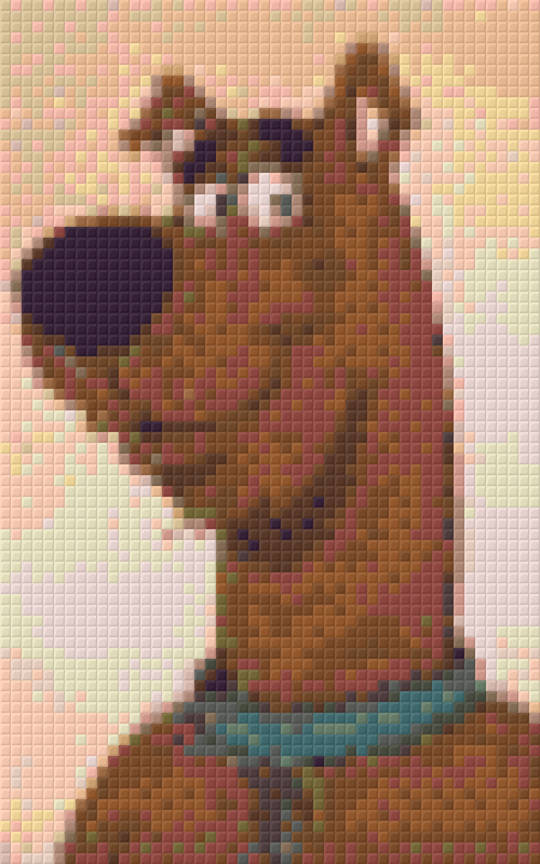 Scooby-Doo Two [2] Baseplate PixelHobby Mini-mosaic Art Kit
