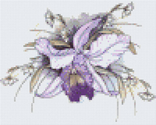 Catt And Snowdrops Four [4] Baseplate PixelHobby Mini-mosaic Art Kits
