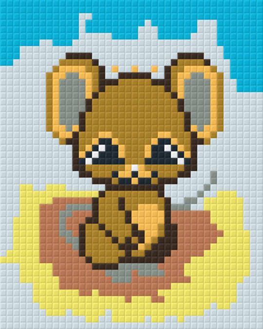 Baby Mouse One [1] Baseplate PixelHobby Mini-mosaic Art Kits