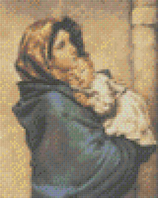 Madonna Of The Streets Four [4] Baseplate PixelHobby Mini-mosaic Art Kits