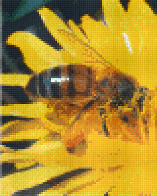 Honey Bee Four [4] Baseplate PixelHobby Mini-mosaic Art Kits