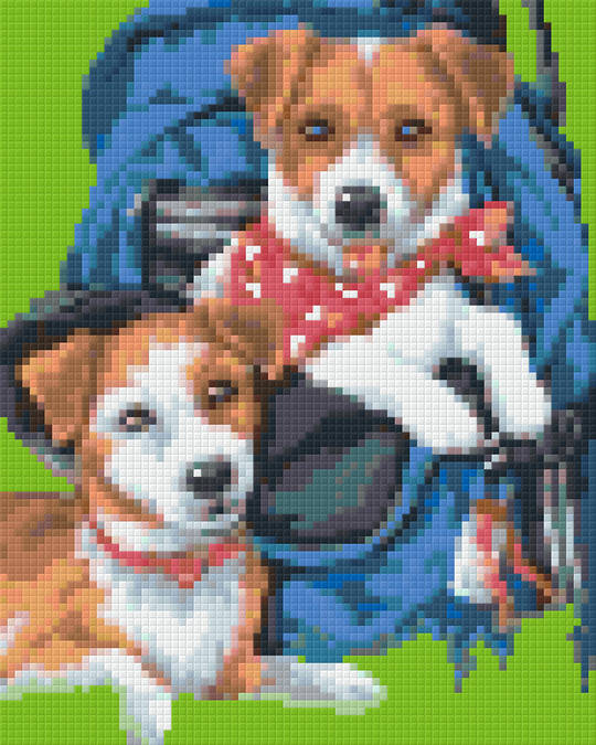 Buddies Four [4] Baseplate PixelHobby Mini-mosaic Art Kits