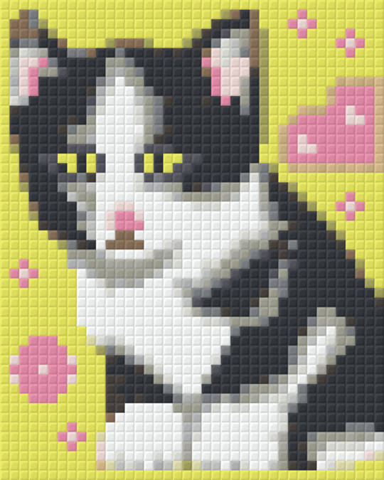 What's Up One [1] Baseplate PixelHobby Mini-mosaic Art Kits