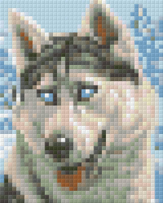 Little Husky One [1] Baseplate PixelHobby Mini-mosaic Art Kits