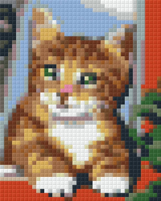 Little Kitty One [1] Baseplate PixelHobby Mini-mosaic Art Kits