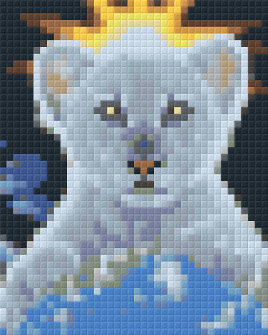 Little Wolf One [1] Baseplate PixelHobby Mini-mosaic Art Kits