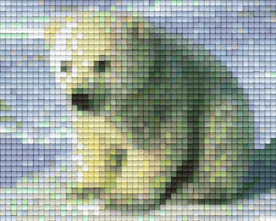 Baby Polar Bear One [1] Baseplate PixelHobby Mini-mosaic Art Kits