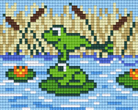 Leap Frog One [1] Baseplate PixelHobby Mini-mosaic Art Kits