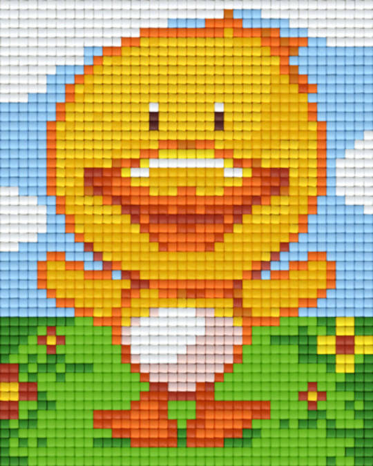 Chick One [1] Baseplate PixelHobby Mini-mosaic Art Kits