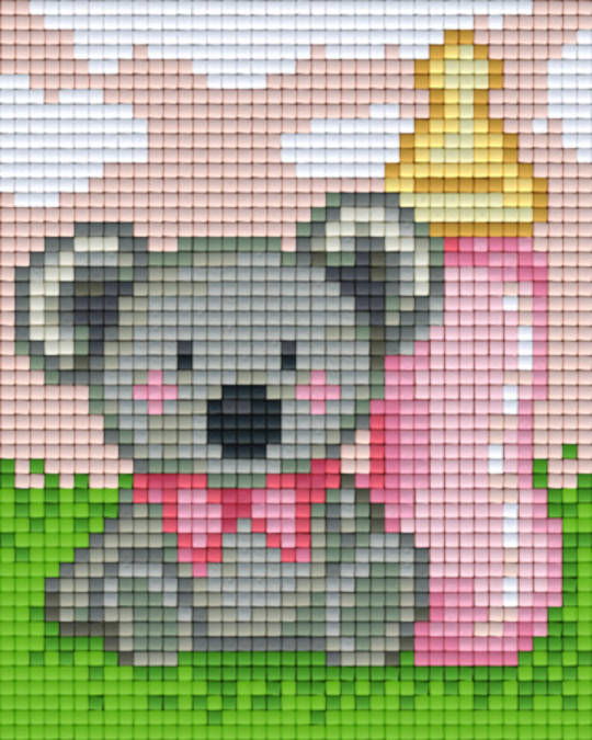 It's A Girl One [1] Baseplate PixelHobby Mini-mosaic Art Kits