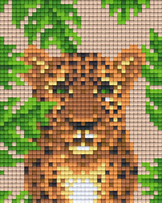 Cheetah One [1] Baseplate PixelHobby Mini-mosaic Art Kits