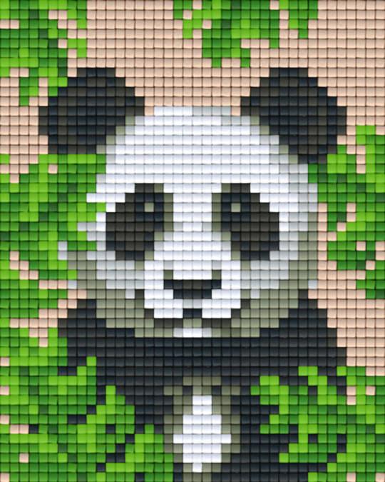 Panda One [1] Baseplate PixelHobby Mini-mosaic Art Kits