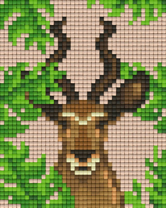 Antilope One [1] Baseplate PixelHobby Mini-mosaic Art Kits