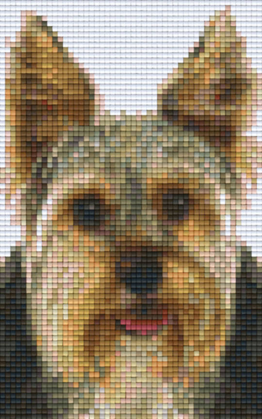 Terrier Two [2] Baseplate PixelHobby Mini-mosaic Art Kit