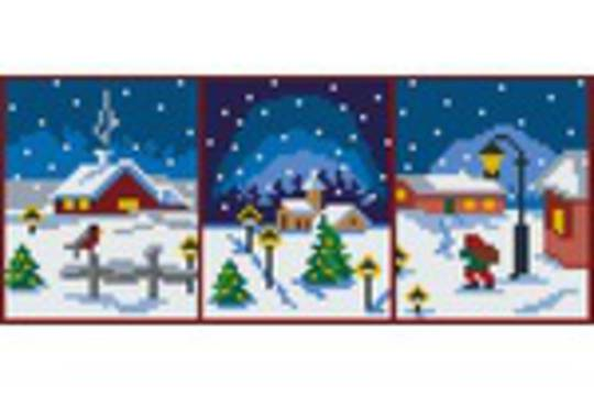Christmas Series Three [3] Baseplate PixelHobby Mini-mosaic Art Kit