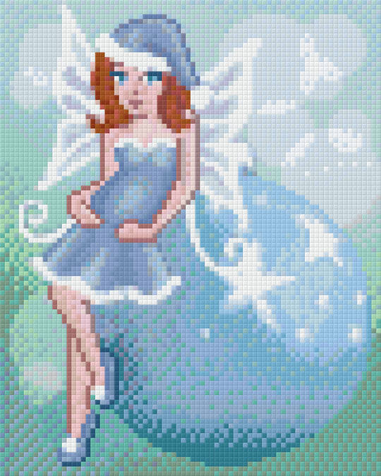 Winter Fairy Four [4] Baseplate PixelHobby Mini-mosaic Art Kits