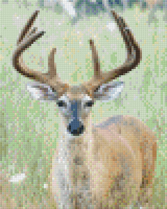 Deer Four [4] Baseplate PixelHobby Mini-mosaic Art Kits