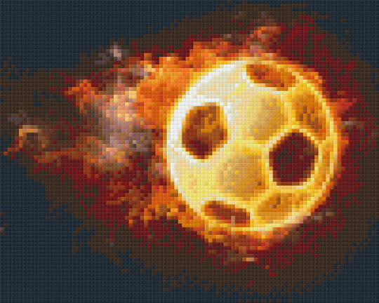 The Ball Four [4] Baseplate PixelHobby Mini-mosaic Art Kits