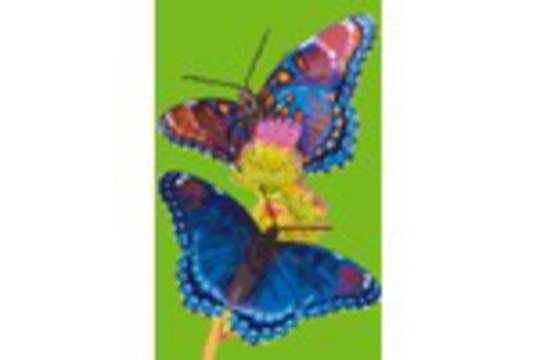 Butterflies Eight [8] Baseplate PixelHobby Mini-mosaic Art Kits