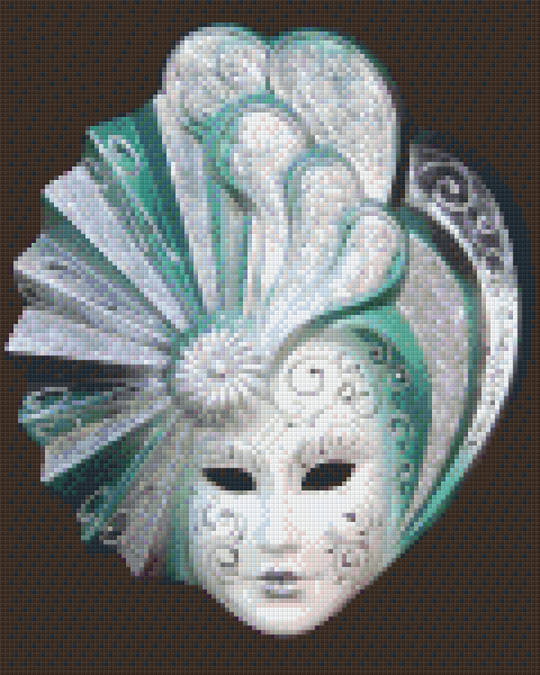 Mask 1 Nine [9] Baseplate PixelHobby Mini-mosaic Art Kits