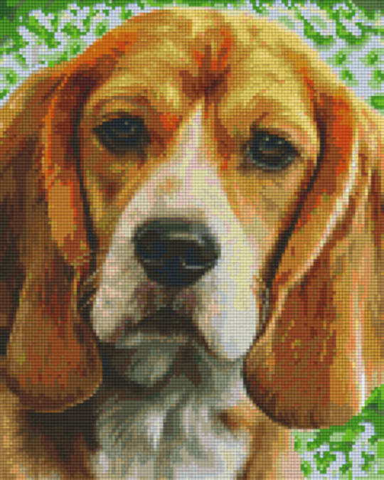 Beagle Nine [9] Baseplate PixelHobby Mini-mosaic Art Kits