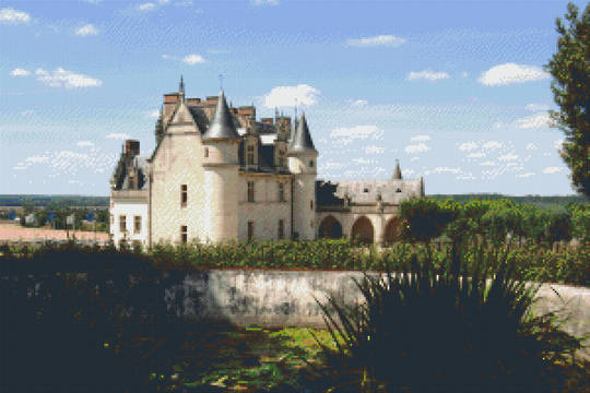 Castle In France Thirty [30] Baseplate PixelHobby Mini-mosaic Art Kits