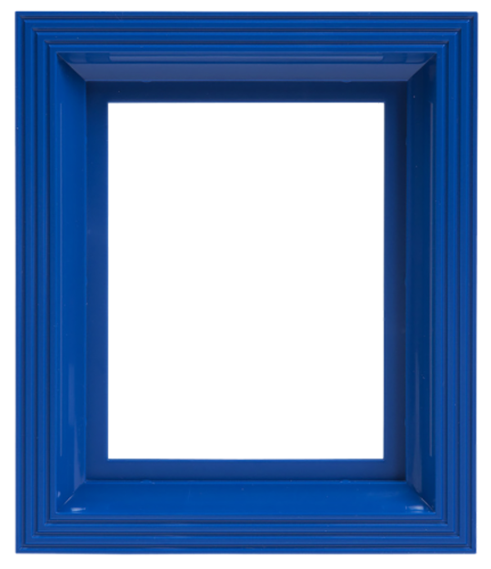 Plastic Frame For Single Baseplate Blue