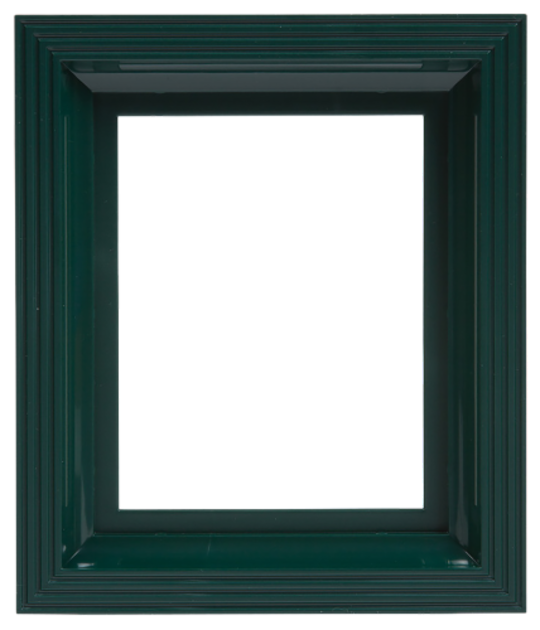 Plastic Frame For Single Baseplate Dark Green [Moss Green]
