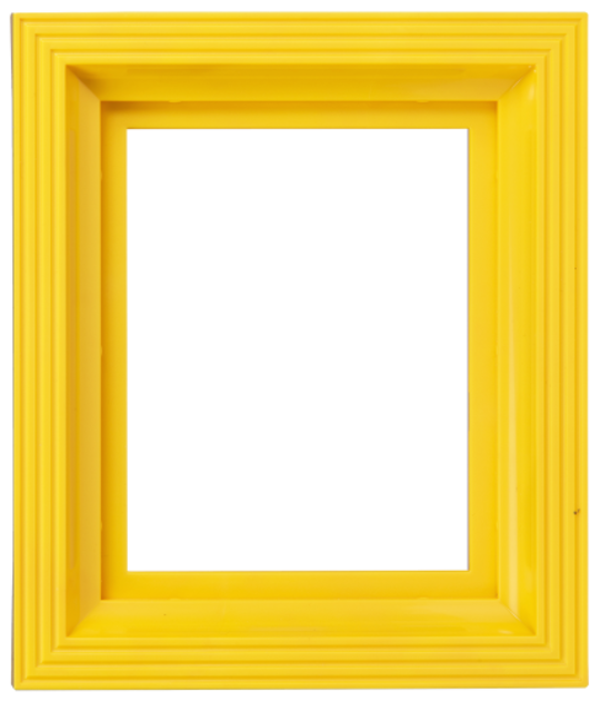 Plastic Frame For Single Baseplate Yellow