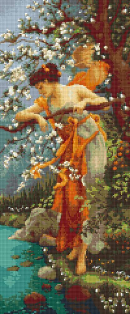 Goddess Of Innocence Twelve [12] Baseplate PixelHobby Mini-mosaic Art Kit