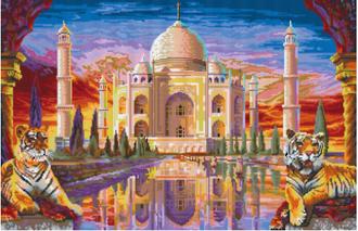 Taj Mahal - 32 Baseplate PixelHobby Mini-mosaic Art Kit