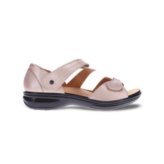 Revere Women's Geneva Closed Heel Sandal Standard (B) Width