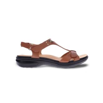 Revere Women's Santa Monica Back Strap Sandal Standard (B) Width