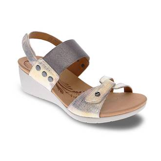 Revere Tahiti Wedge Sandals