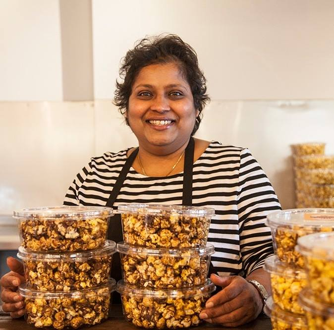 We make the best caramel popcorn in New Zealand all handcrafted from scratch.