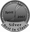International Wine & Spirit Competition, Silver Best in Class