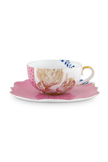 Pip Royal - Pink Cup and Saucer