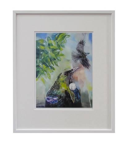 Sheila Brown Art - Tui Dreams