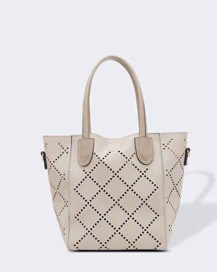 Baby Bermuda Handbag - Putty