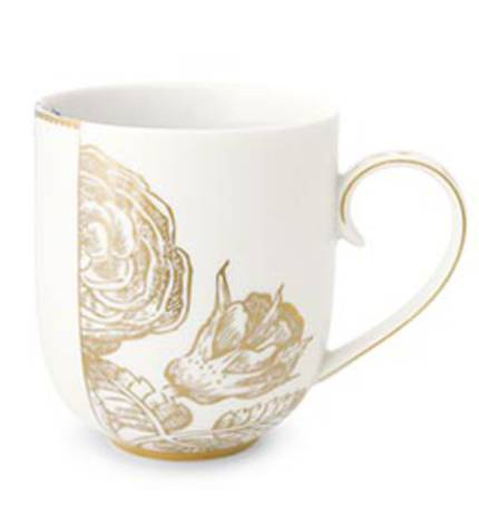 Pip Royal White - Large Mug