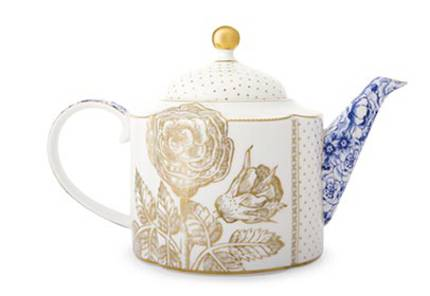 Pip Royal White - Large Teapot
