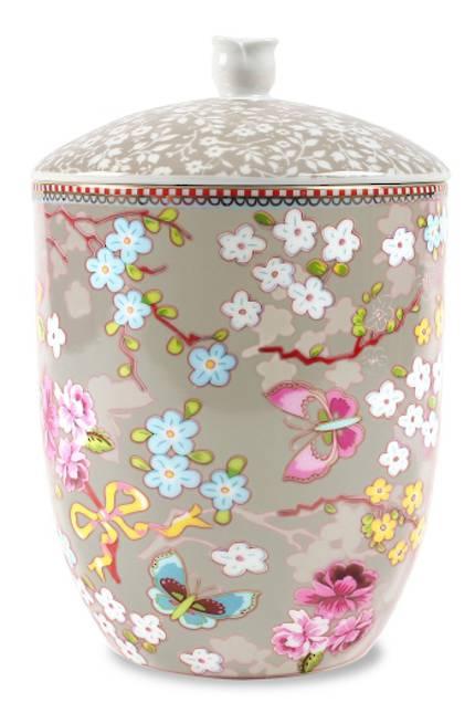 Pip Chinese Rose Khaki Storage Jar