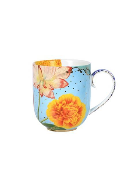 Pip Royal - Large Floral Mug