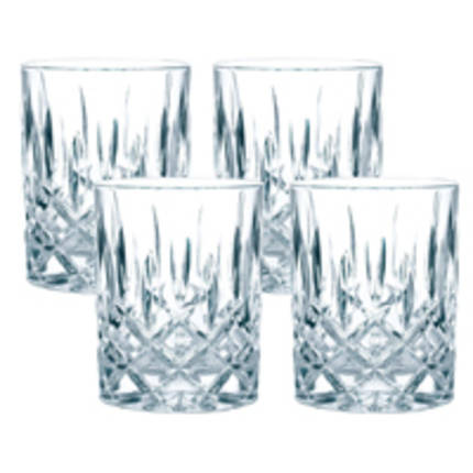 Nobleese Whiskey Tumblers (Set of 4)