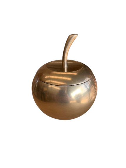 Gold Apple Storage decor
