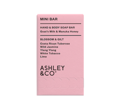 Ashley & CO. Mini Soap Bar - Blossom & Gilt