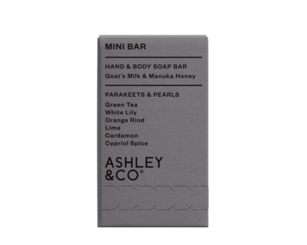 Ashley & CO. Mini Soap Bar - Parakeets & Pearls